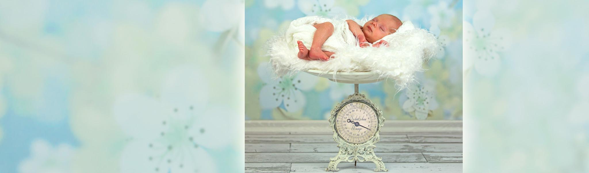 Kreative Neugeborenenfotos