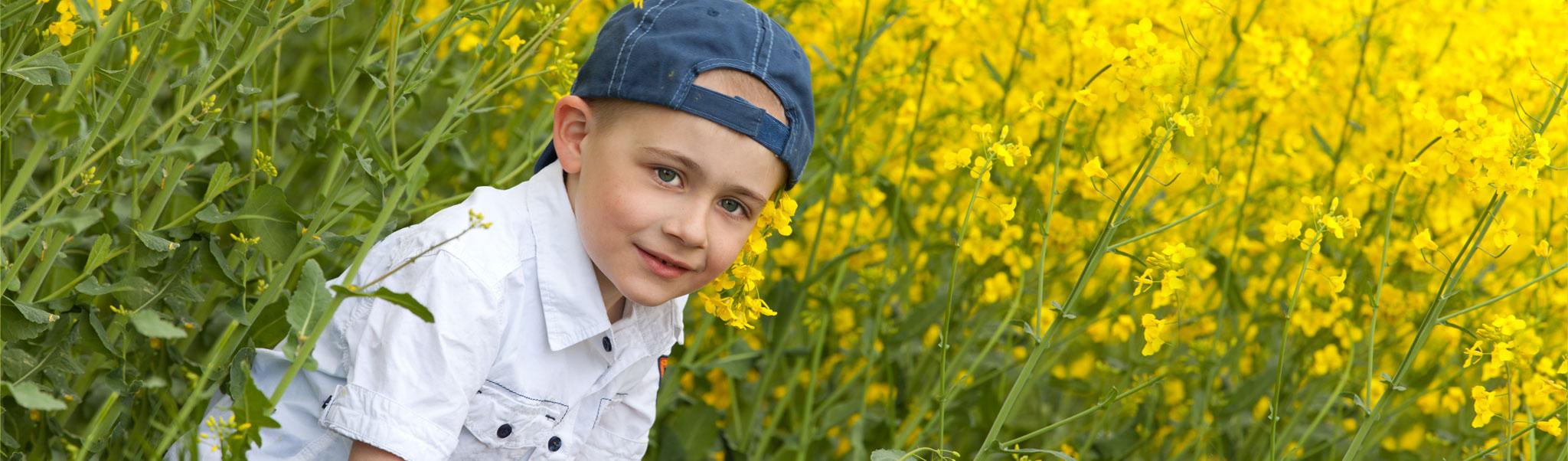 Natürliche Kinderfotogragie